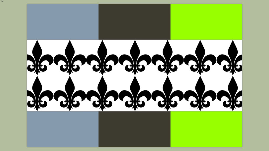 NOLA Saint Flag