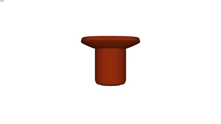 Obon table square high - Moooi