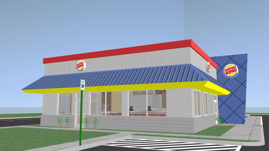 Burger King Restaurant - Fully Furnished