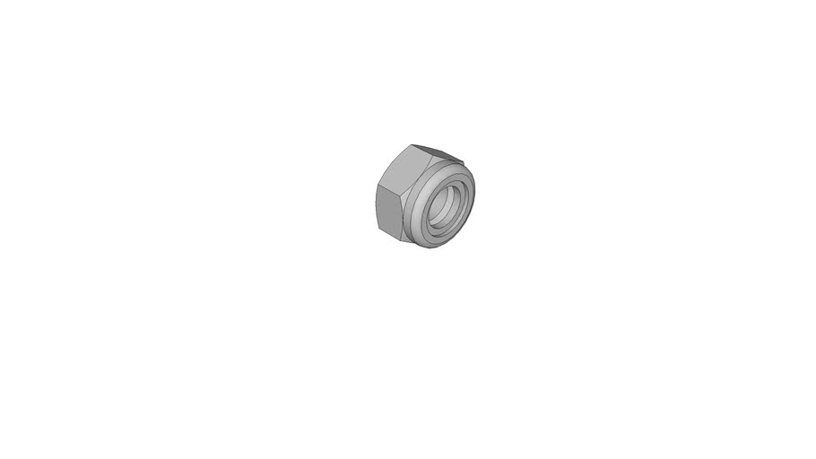 0543006001 Prevailing torque type hexagon nuts with non-metallic inster DIN 985 M8