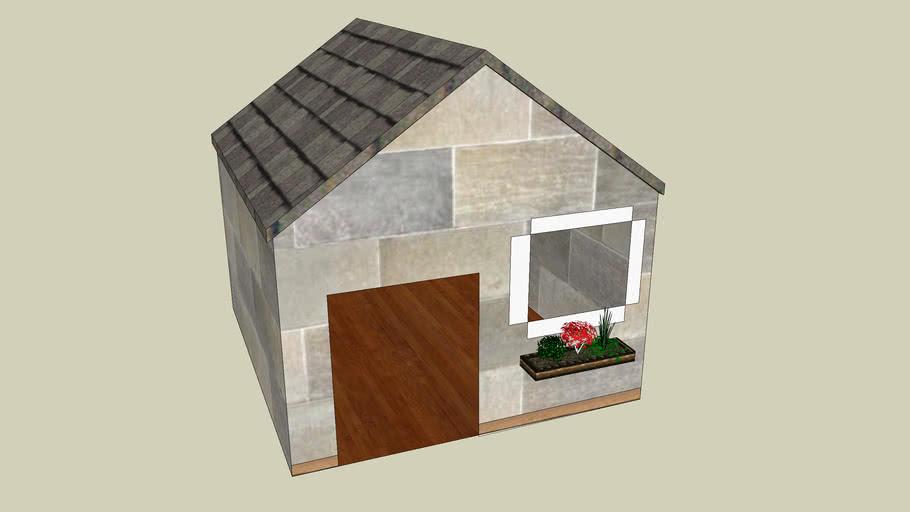 Stone Doghouse