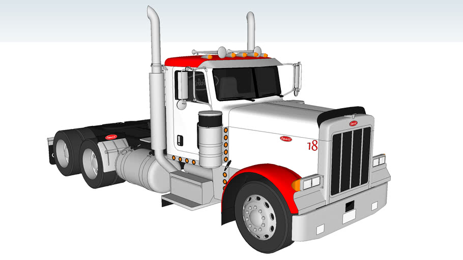 2007 Peterbilt 379EXHD Daycab- With Interior :)