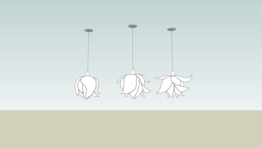 3form Blossom Pendant Lights Varia