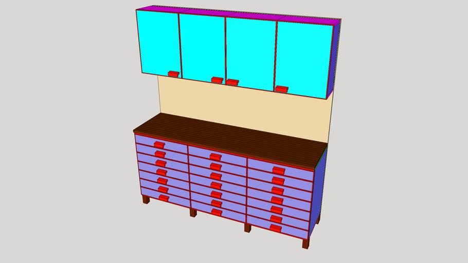 Workbench + Storage