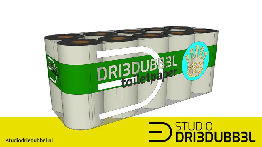 Coronaproof toiletpaper package 20 rolls