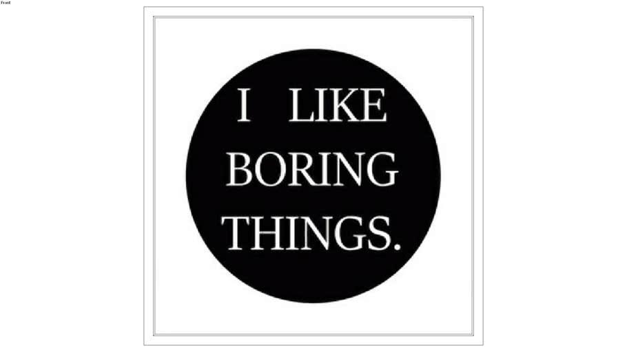 Quadro Boring Things