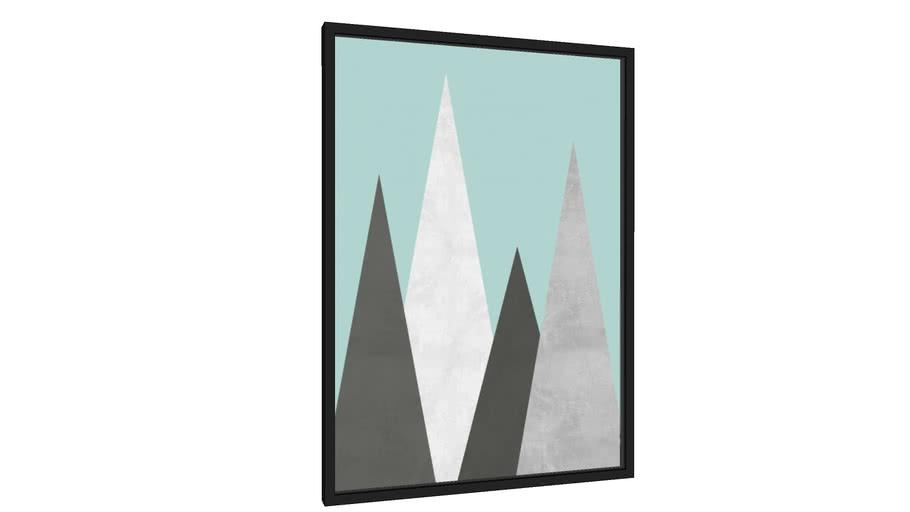 Quadro Floresta Escandinava III - Galeria9, por Arte Decor