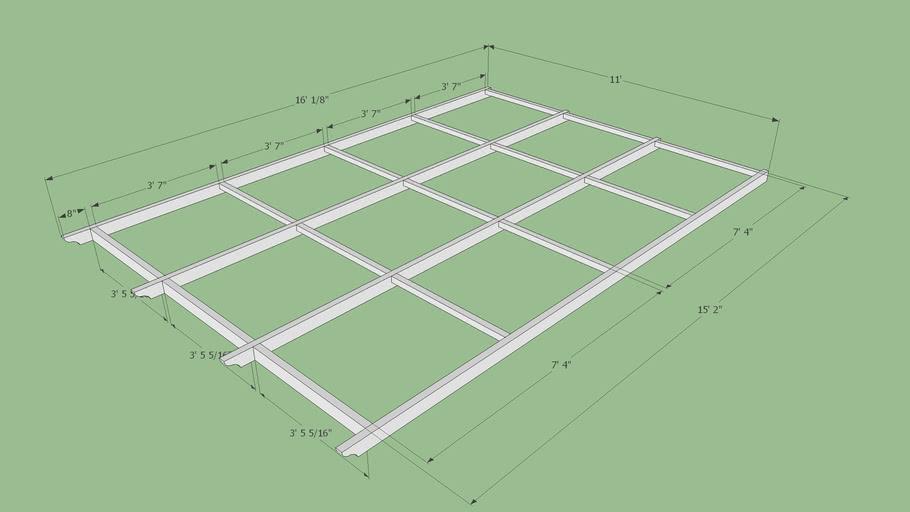 Carport Roof Trusses Dimensions