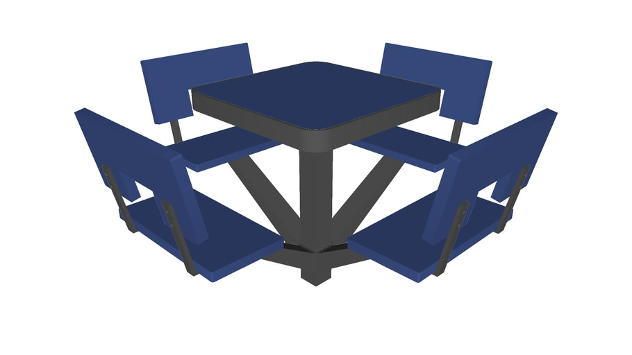 Park Table Seats - Detailed
