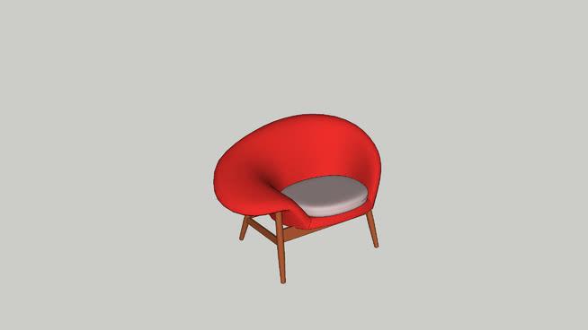 De Egg Chair.Fried Egg Apple Red Pale Rose Warm Nordic Design By Hans