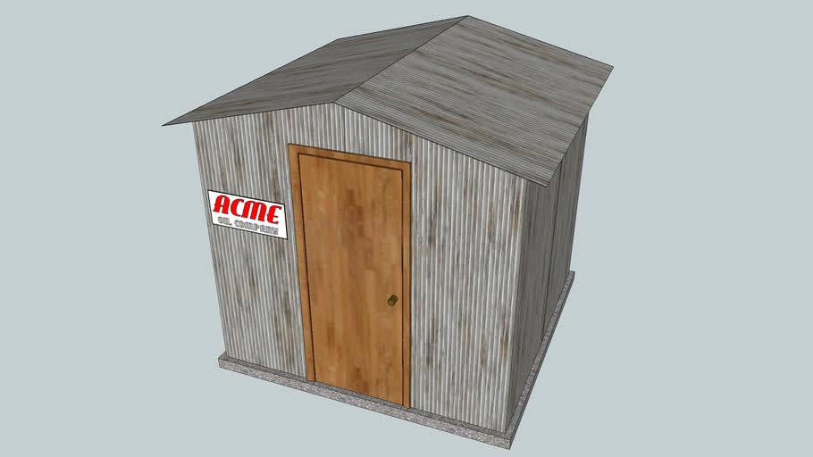 Gasoline Storage Station Pump House