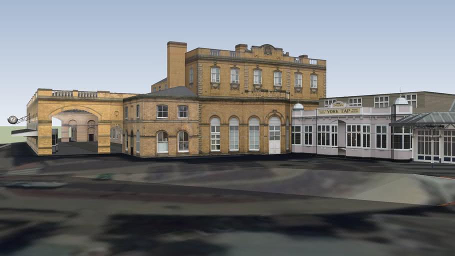 York Railway Station; Lobby