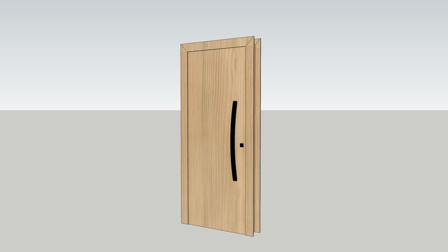 Porta para interiores e exteriores