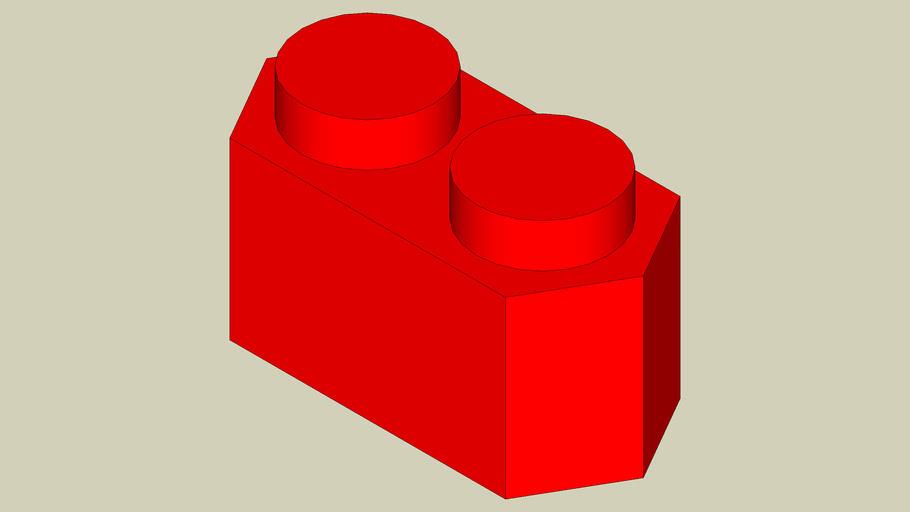 Hexagon Lego 1x1x2 (Oblong)