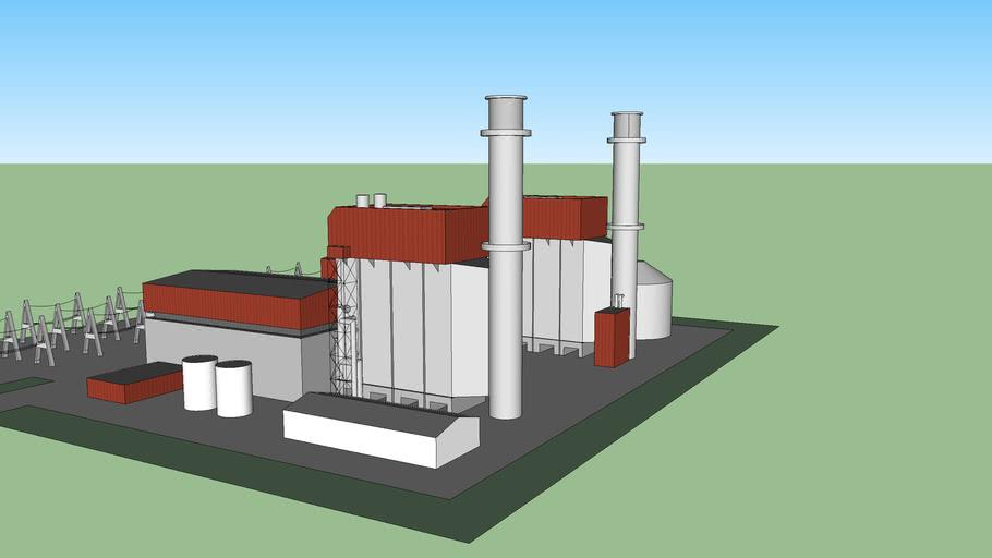 CCGT Gas Plant 2 Units - 1400 MW