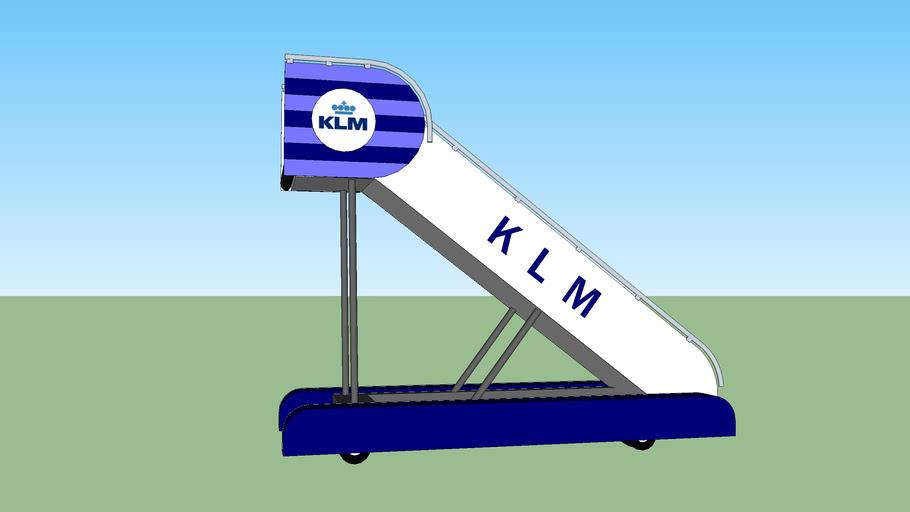 KLM Retro Airstairs Jetway 50's 60's