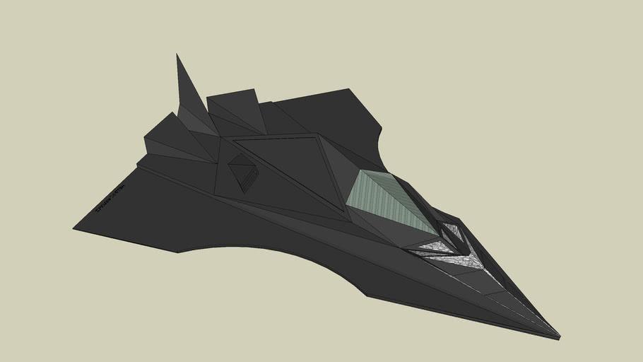 The Bat Plane (stealth) F-300