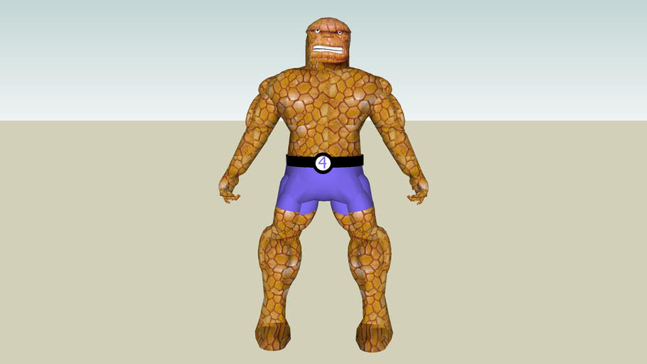 3D People - The Thing