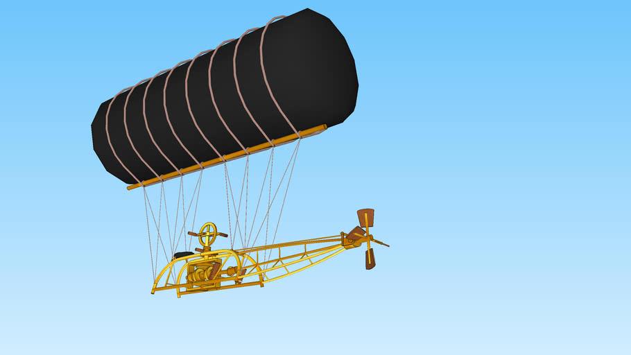 Charles F. Ritchel's Flying-Machine