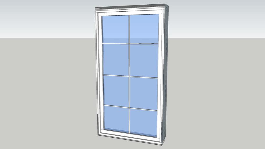 Facade Blue Windows