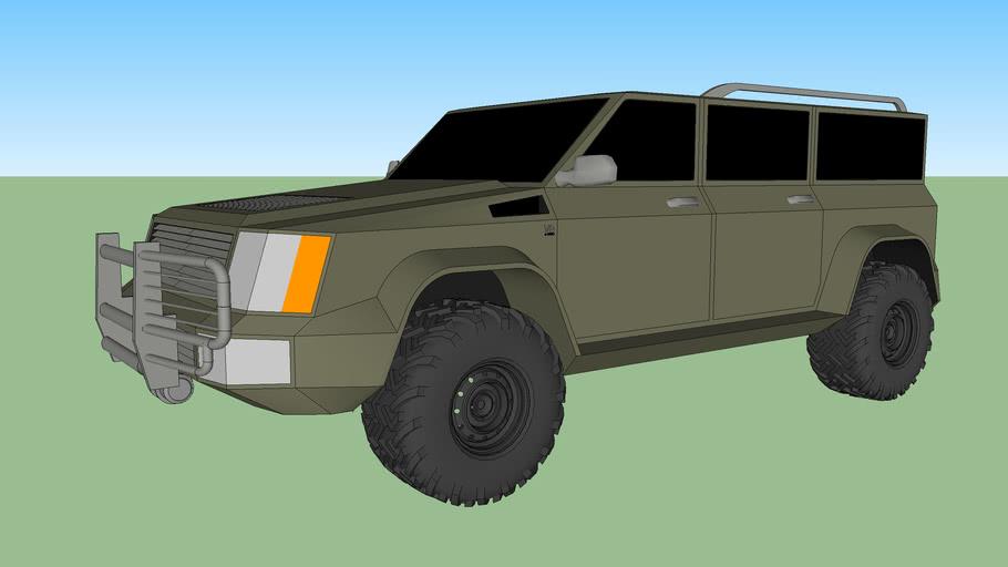 Global Automotive UV1 AWD Utility Vehicle