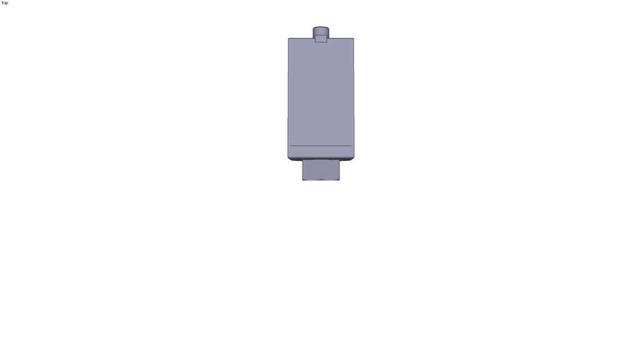 Universal pressure sensor XMLF. 1 analogue...psi). Fluid connection 1/4 NPT female
