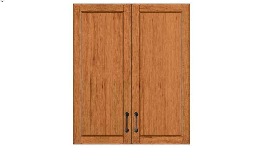Wall Double Door 36Hx15D
