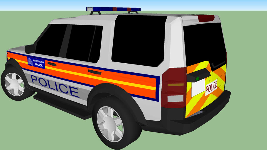 Metropolitan Police Land rover