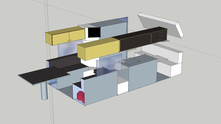 Ambulance Campervan Goal Design