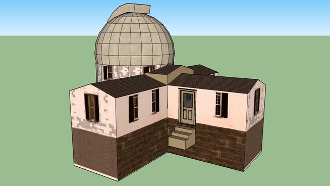 Shattuck Observatory, circa 1900