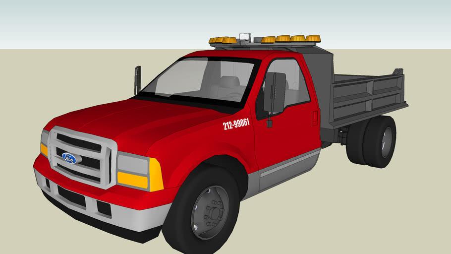 Construction Contractor Truck
