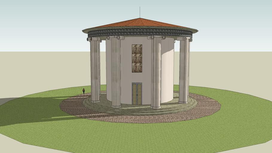 Greek round temple