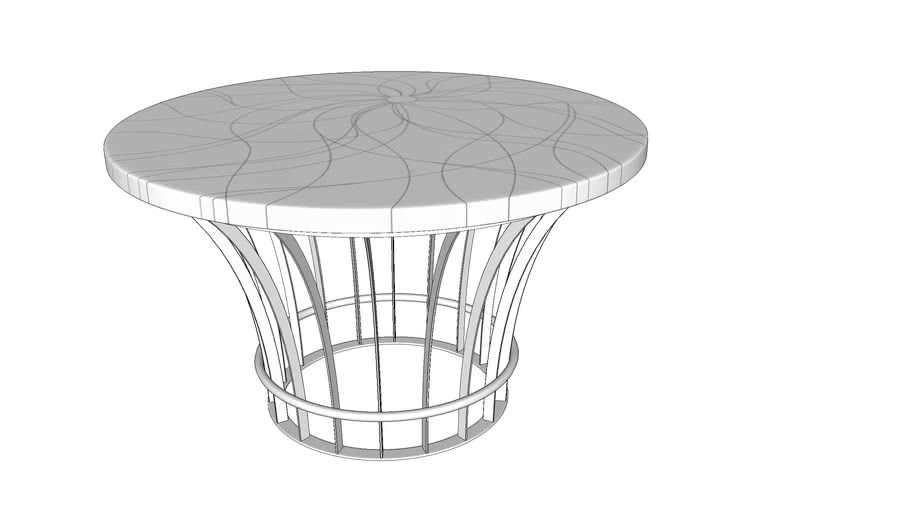 REF: 00111 outdoor marble table