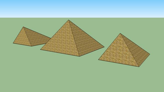 les 3 pyramides