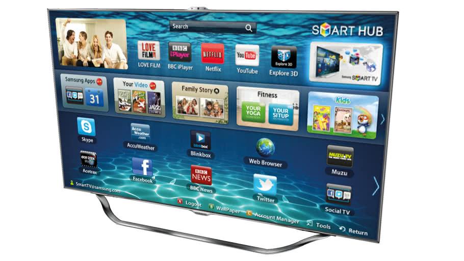 Samsung 55 ES8000 3D LED TV