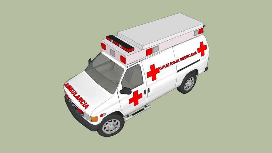 ambulancia delegacion   coahuila cruz roja mexicana