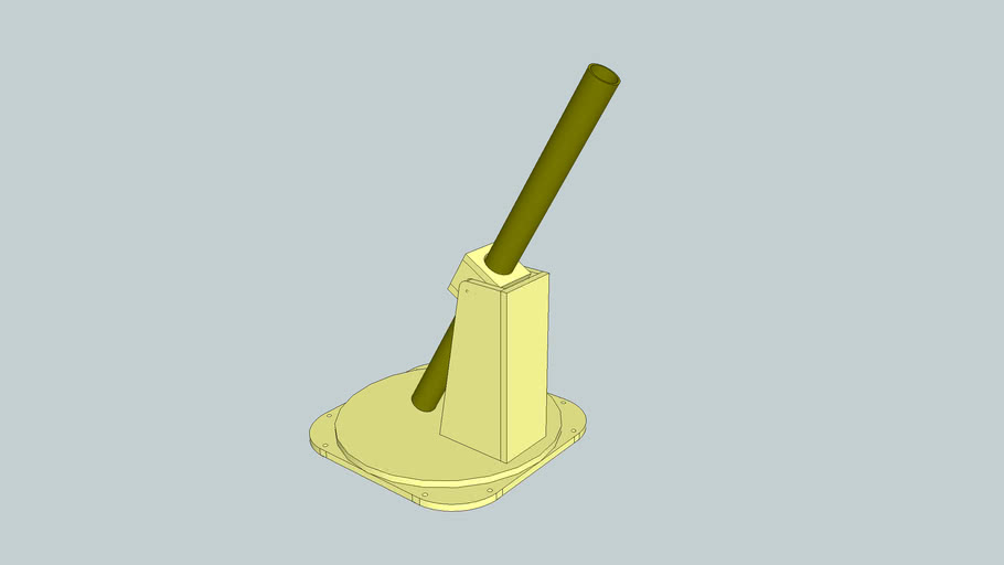 Raquetball Mortar Launcher