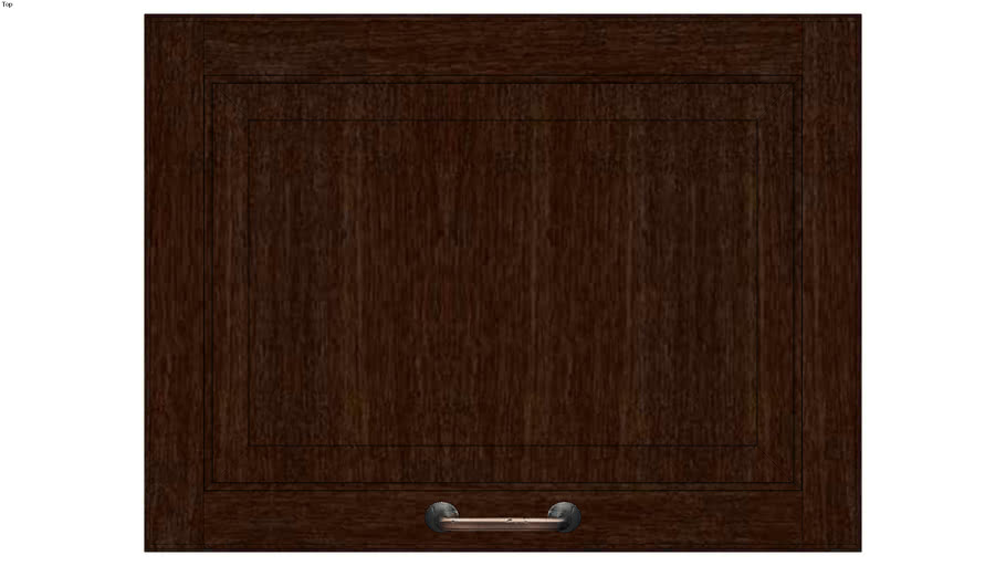 Wall Top Hinge Cabinet 18H