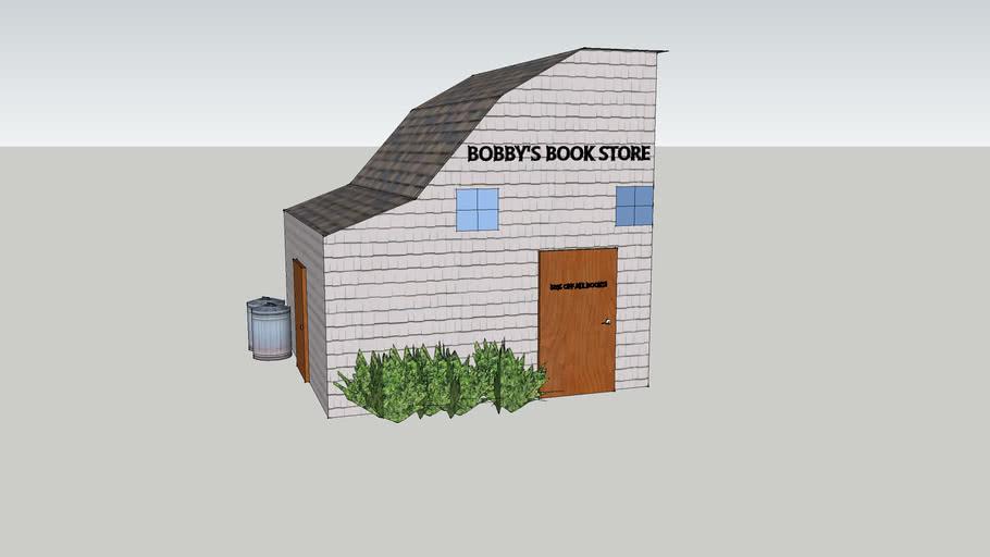 cool modern town book store