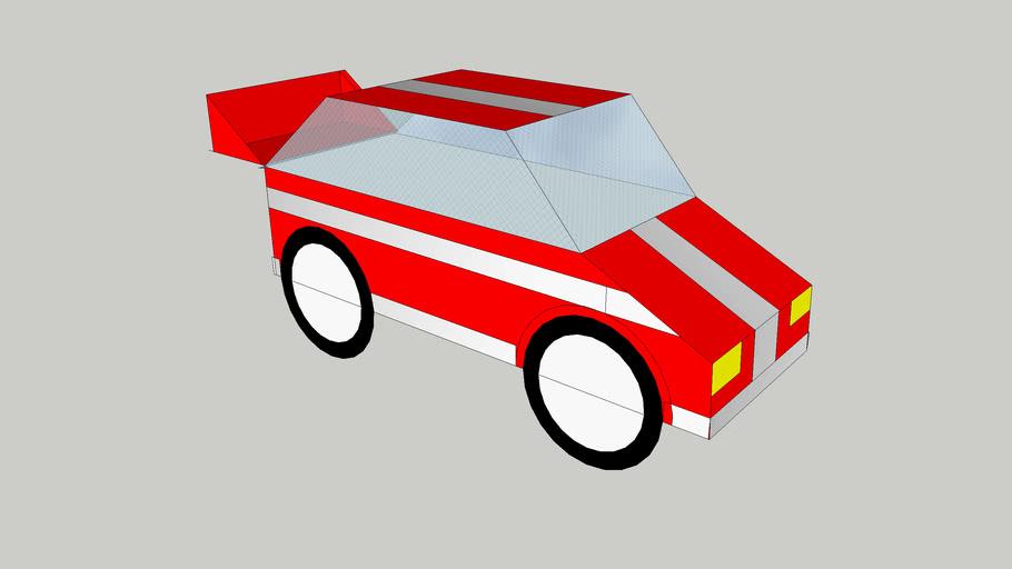 Auto de rally/rally car