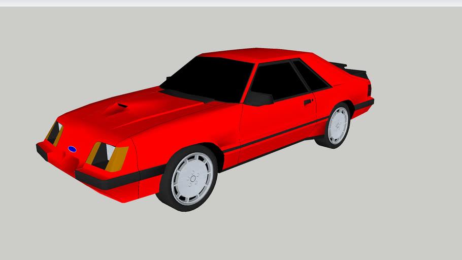 1984-86 Ford Mustang SVO