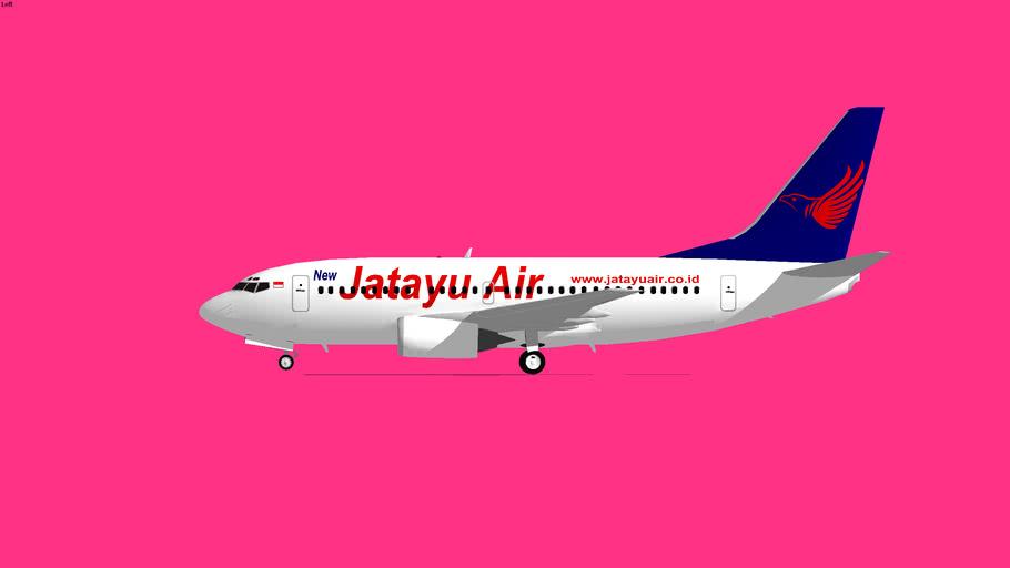 Jatayu Airlines Boeing 737-500