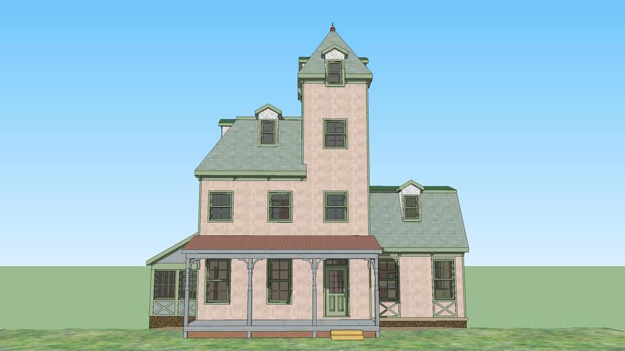 High-Victorian House
