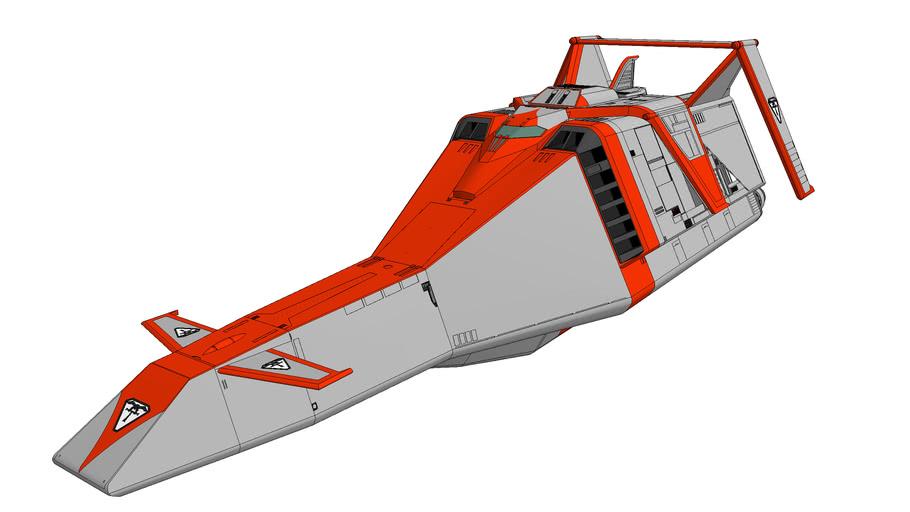 Terrahawks  The Battehawk&The Terrahawk (地球防衛軍テラホークスバトルホーク)