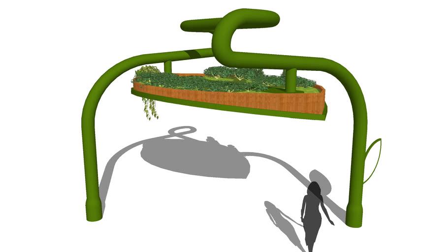 Hanging Garden Structure