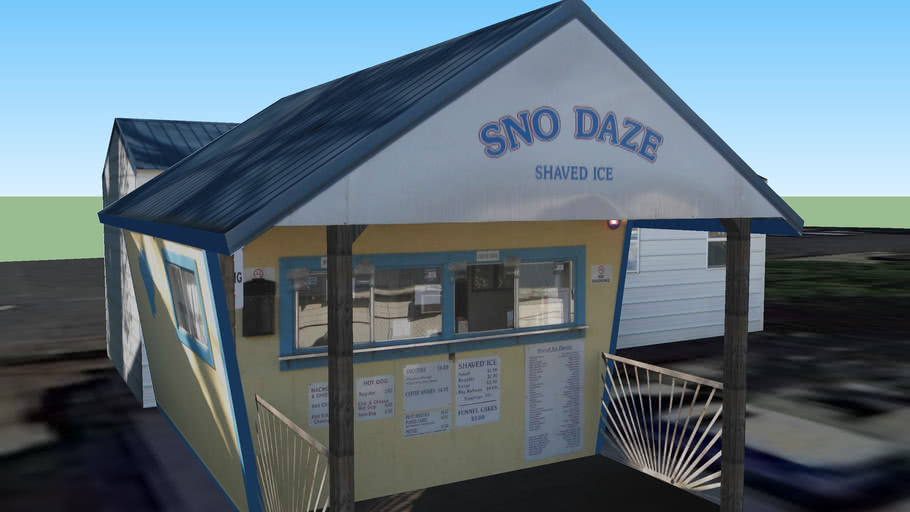 Sno Daze Shaved Ice, Hueytown, Al
