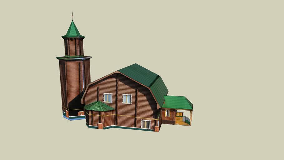 BAVLİ CAMİİ--Бавлы Camii--BAVLY MOSQUE