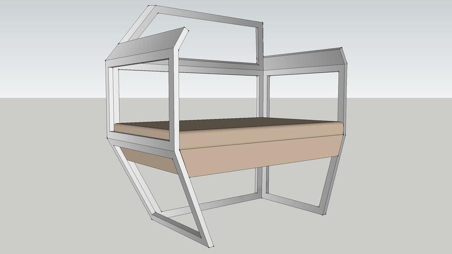 Open Frame Octogan Chair