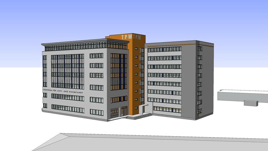 Entwurf Centrum Für Luft und Raumfahrt - Ziebell Bülow+Partner