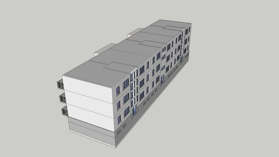 Prof. Frege Str. 33-35-37 Wohnung - Wismar
